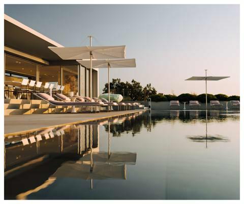 Infina Garten Sonnenschirm ǀ 2,5 m quadratisch ǀ Natural ǀ Alu Gestell Villa Ama Copyright@TomClaeren