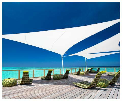 Umbrosa Ingenua shade  sails ǀ Solidum Natural ǀ Triangle ǀ 3 x 3 x 3m