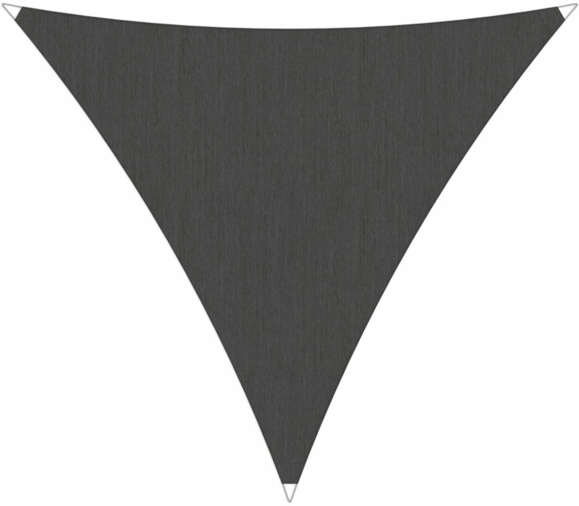 Ingenua shade sail Triangle 5 x 5 x 5 m, for outdoor use. Colour of the fabric shade sail Flanelle.