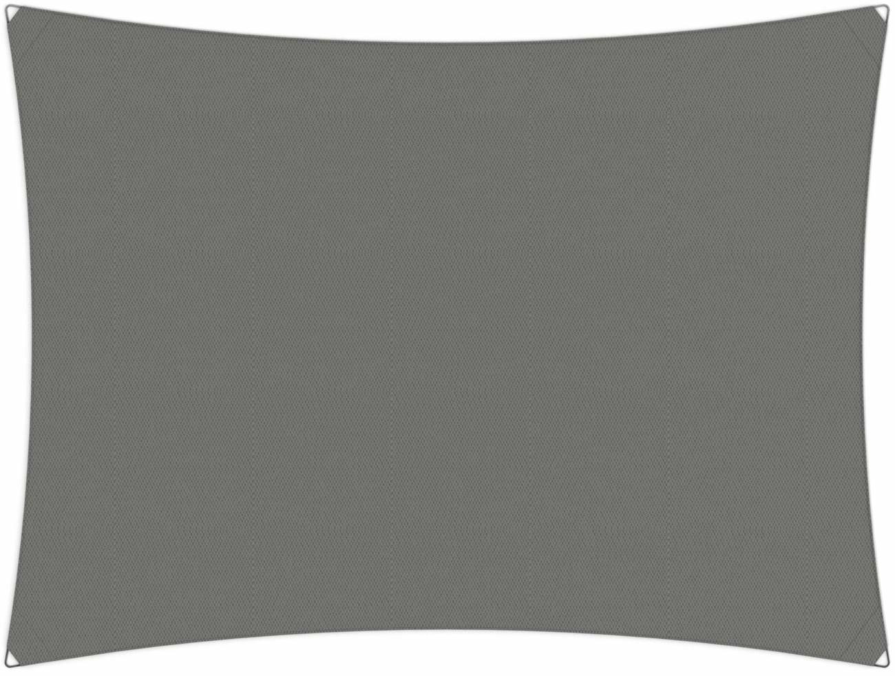 Ingenua shade sail Rectangle 4 x 3 m, for outdoor use. Colour of the fabric shade sail Grey.
