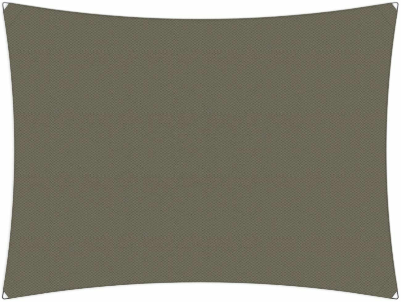 Ingenua shade sail Rectangle 4 x 3 m, for outdoor use. Colour of the fabric shade sail Taupe.