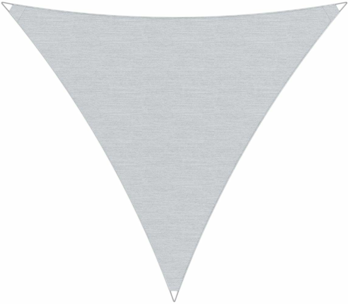 Ingenua shade sail Triangle 4 x 4 x 4 m, for outdoor use. Colour of the fabric shade sail Marble.