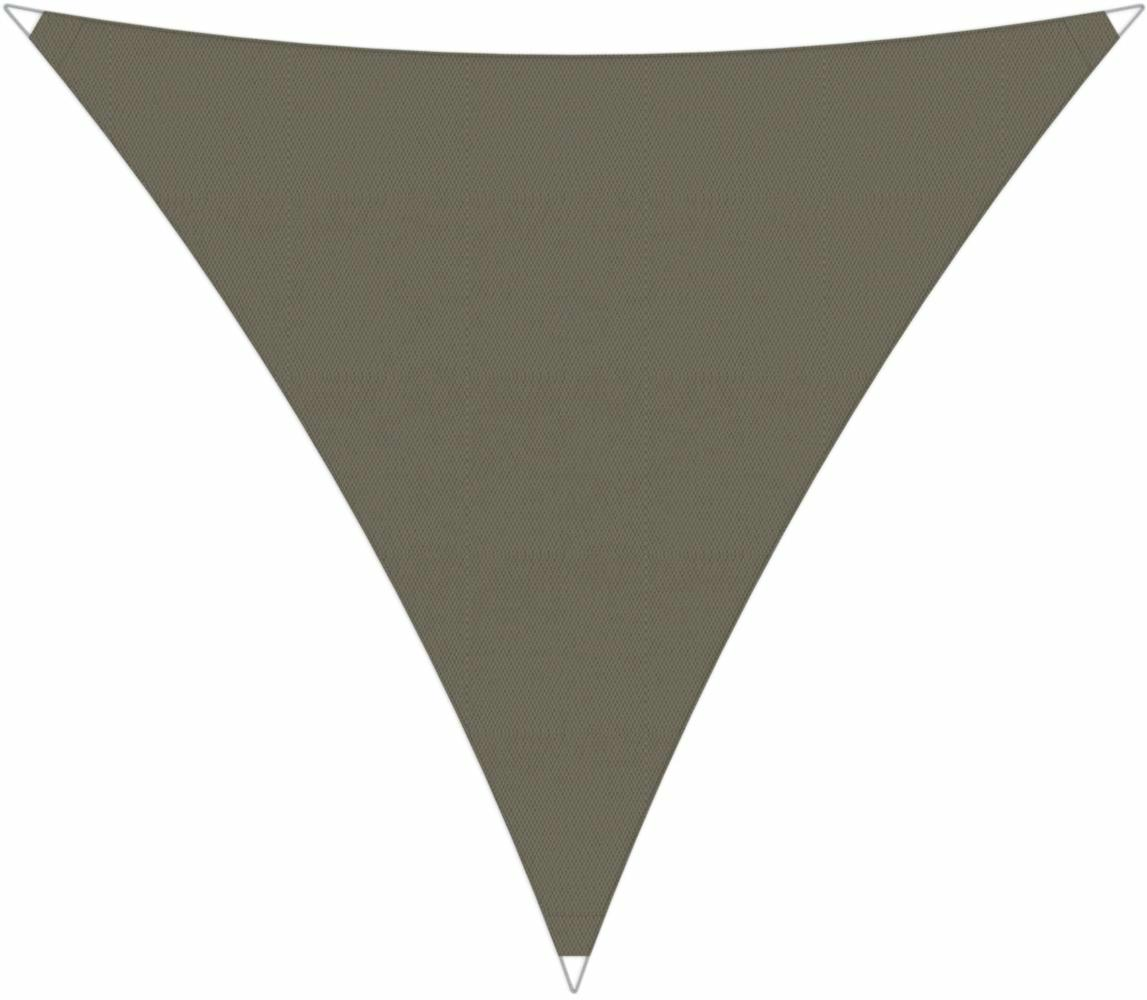 Ingenua shade sail Triangle 5 x 5 x 5 m, for outdoor use. Colour of the fabric shade sail Taupe.