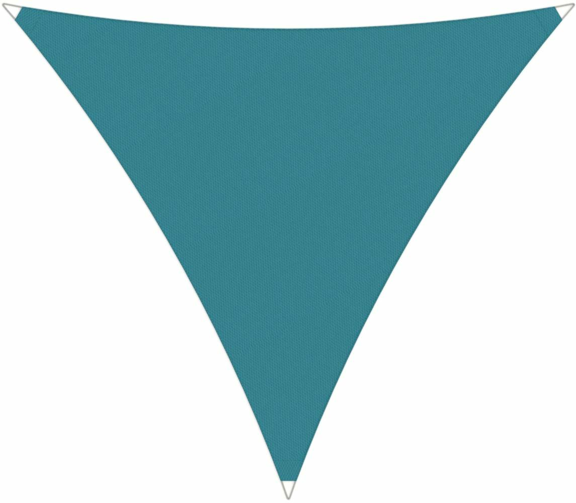 Ingenua shade sail Triangle 5 x 5 x 5 m, for outdoor use. Colour of the fabric shade sail Adriatic.