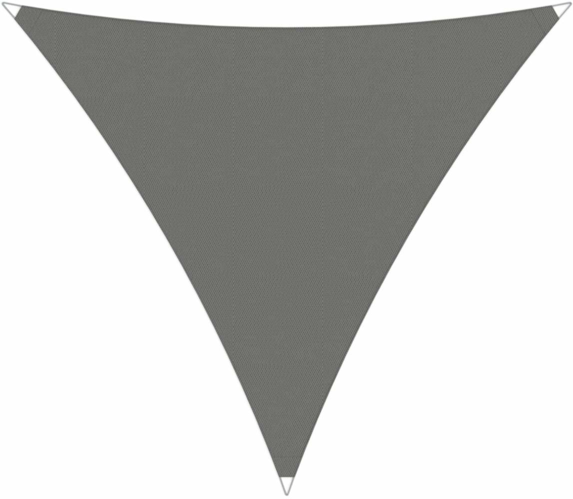 Ingenua shade sail Triangle 4 x 5 x 6,4 m, for outdoor use. Colour of the fabric shade sail Grey.