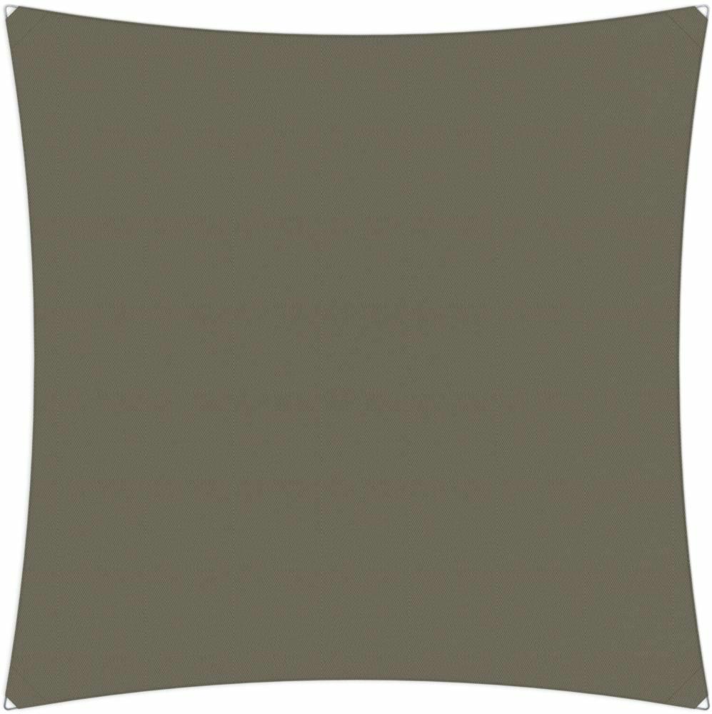 Ingenua shade sail Square 3 x 3 m, for outdoor use. Colour of the fabric shade sail Taupe.