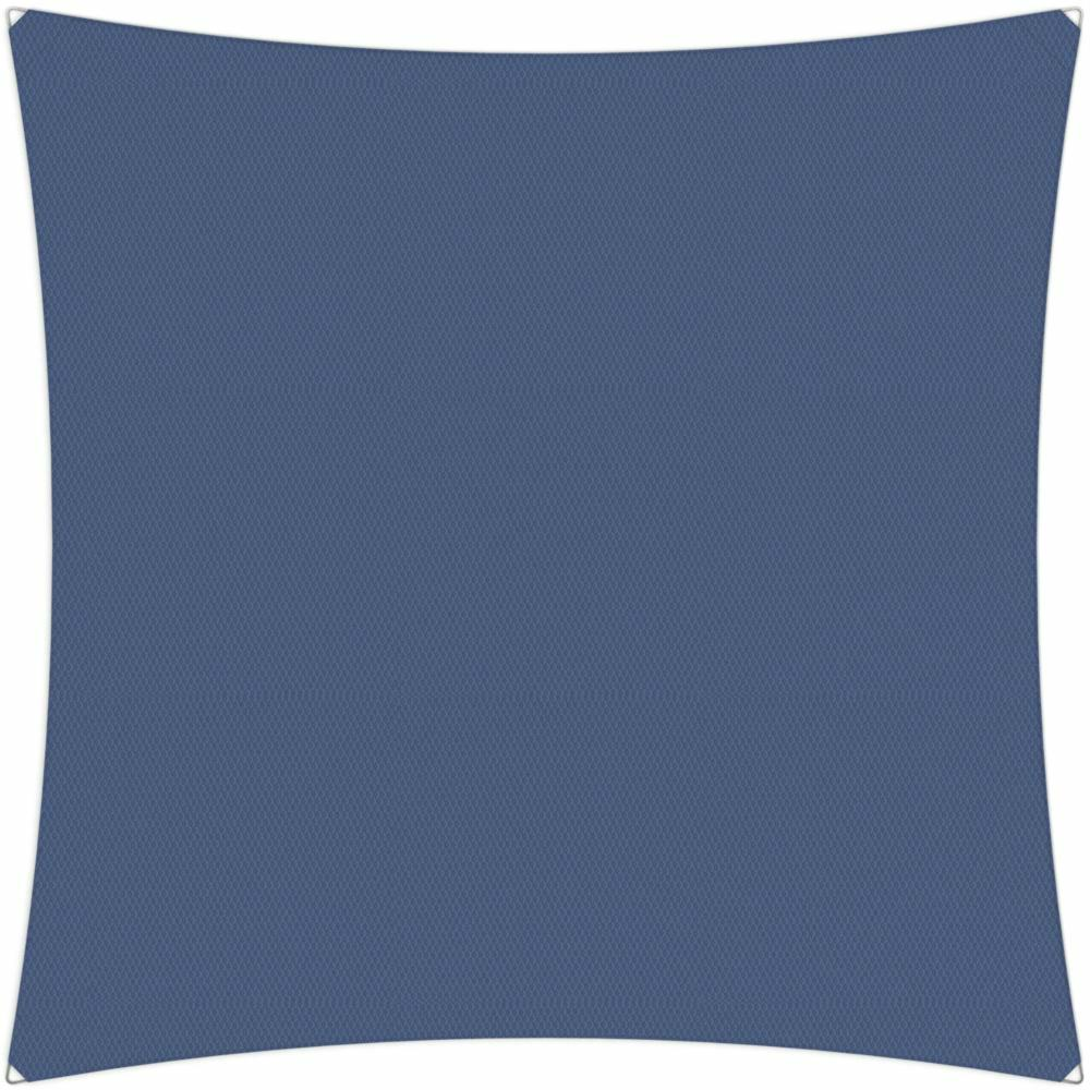 Ingenua shade sail Square 4 x 4 m, for outdoor use. Colour of the fabric shade sail Blue Storm.