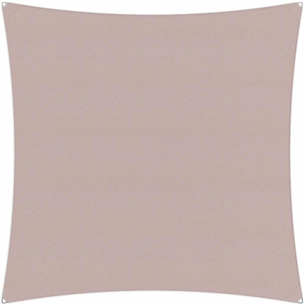 Ingenua shade sail Square 4 x 4 m, for outdoor use. Colour of the fabric shade sail Blush.