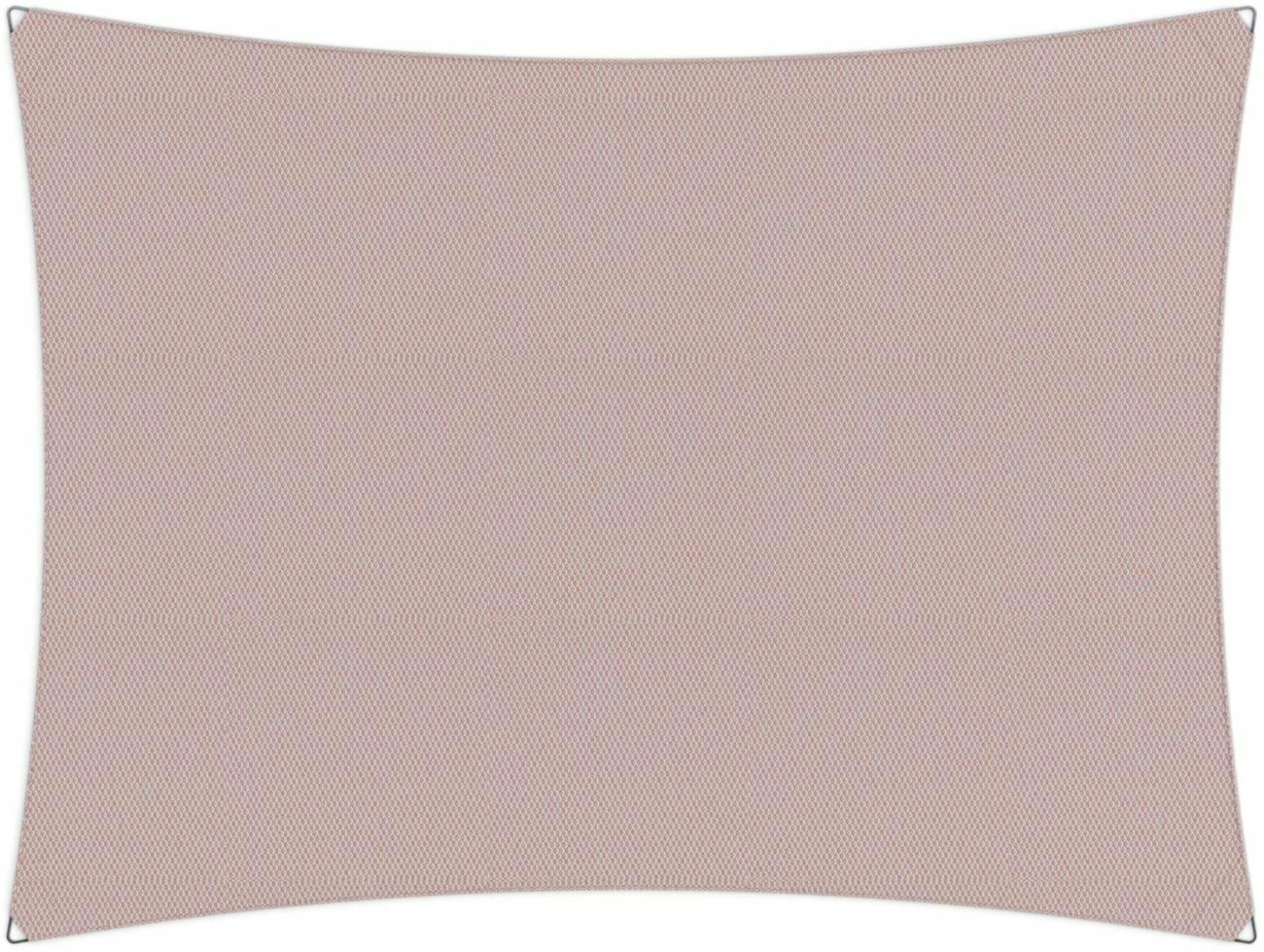 Ingenua shade sail Rectangle 5 x 3 m, for outdoor use. Colour of the fabric shade sail Blush.