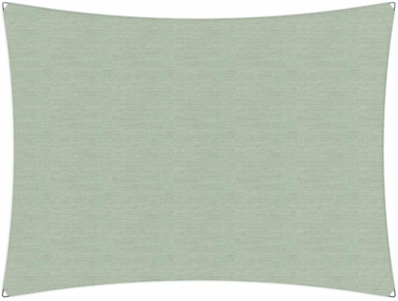 Ingenua shade sail Rectangle 5 x 3 m, for outdoor use. Colour of the fabric shade sail Mint.
