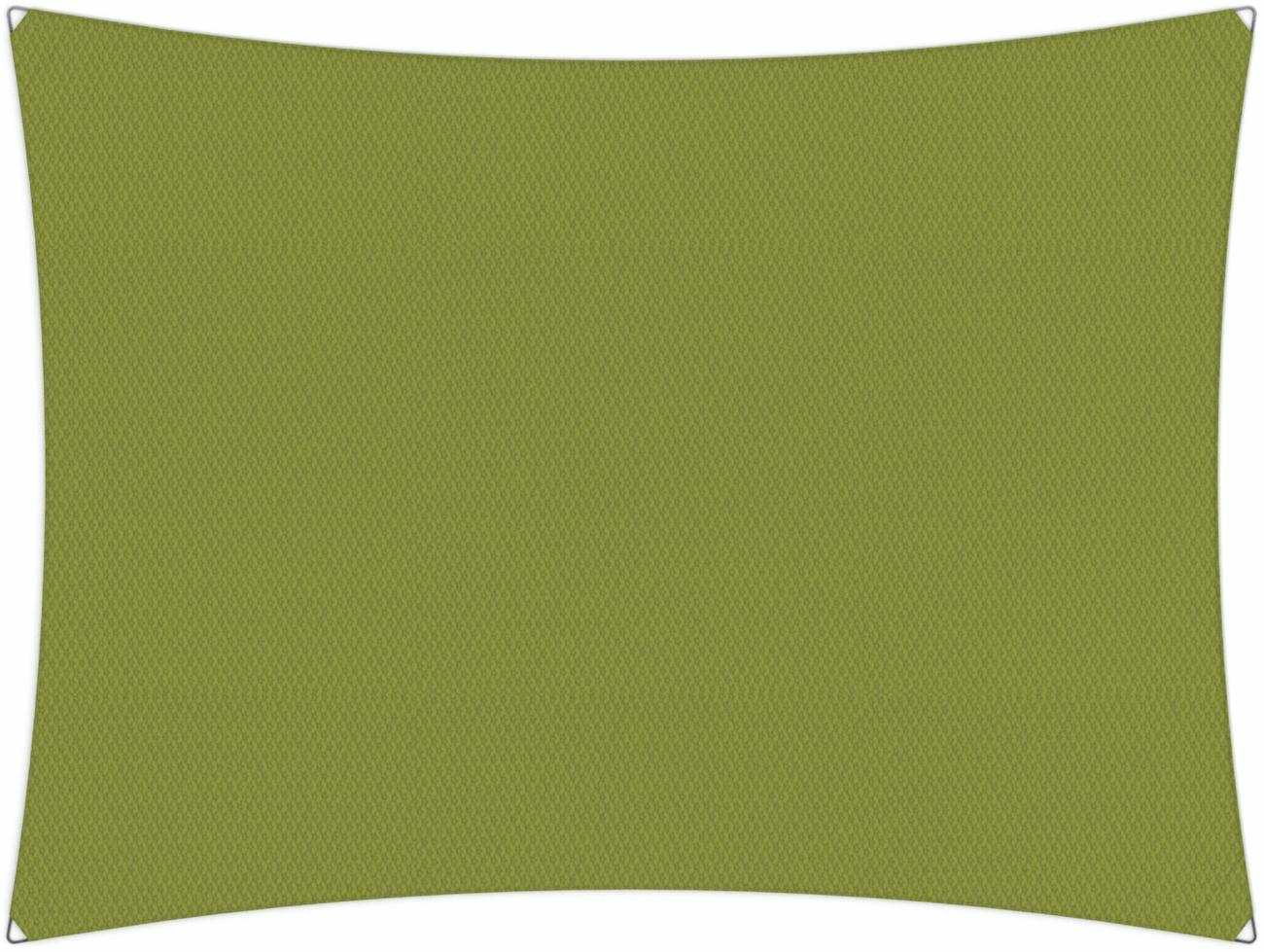 Ingenua shade sail Rectangle 5 x 3 m, for outdoor use. Colour of the fabric shade sail Lichen.