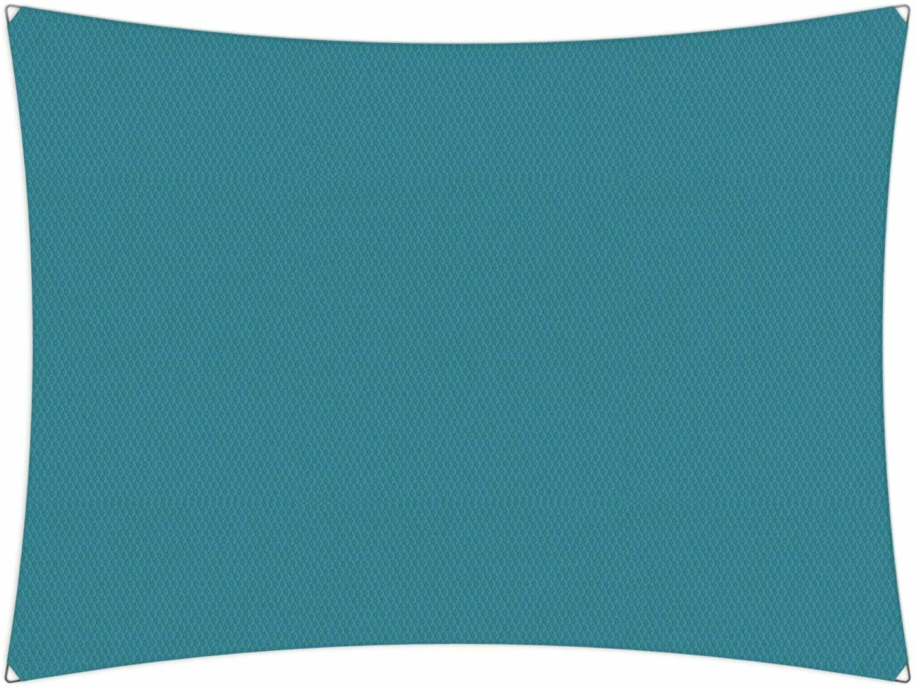 Ingenua shade sail Rectangle 5 x 3 m, for outdoor use. Colour of the fabric shade sail Adriatic.