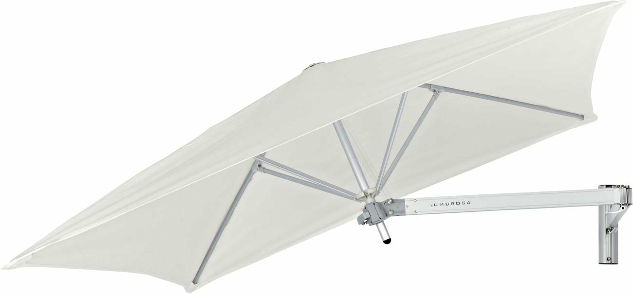 Paraflex canopy square 1,9 m in colour Canvas