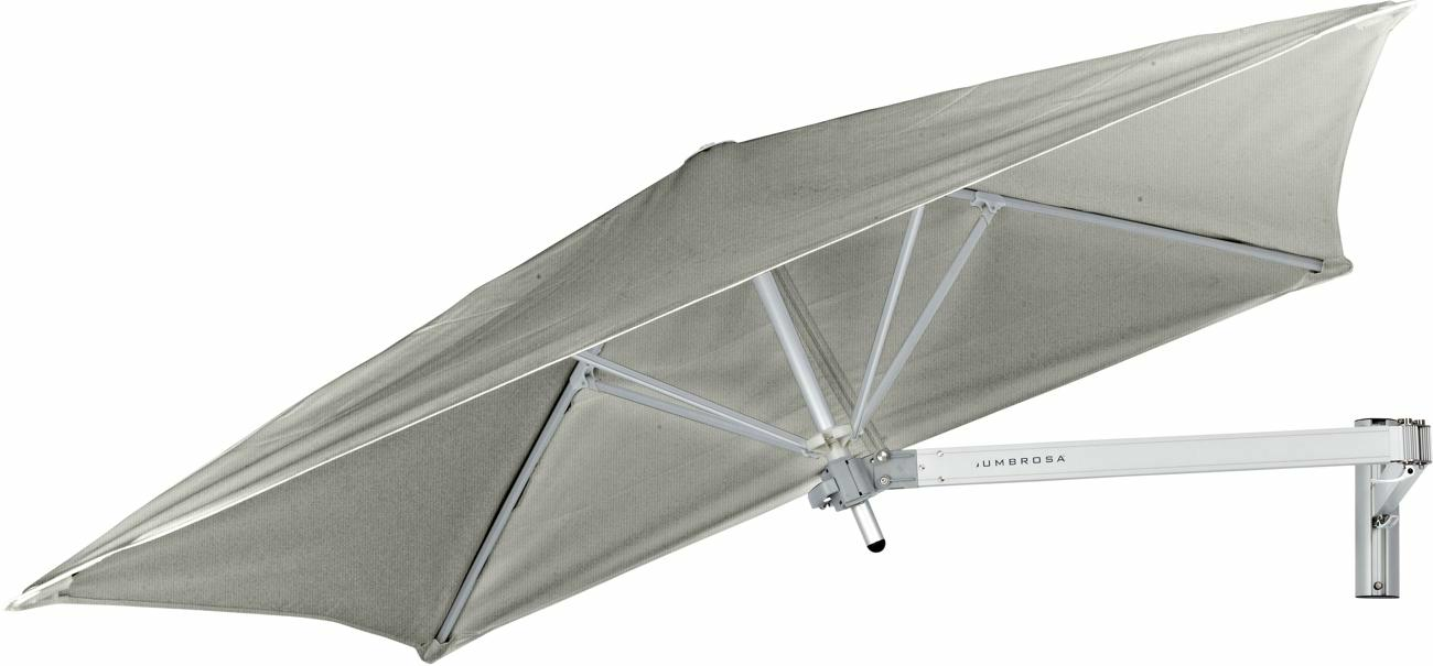 Paraflex canopy square 1,9 m in colour Grey