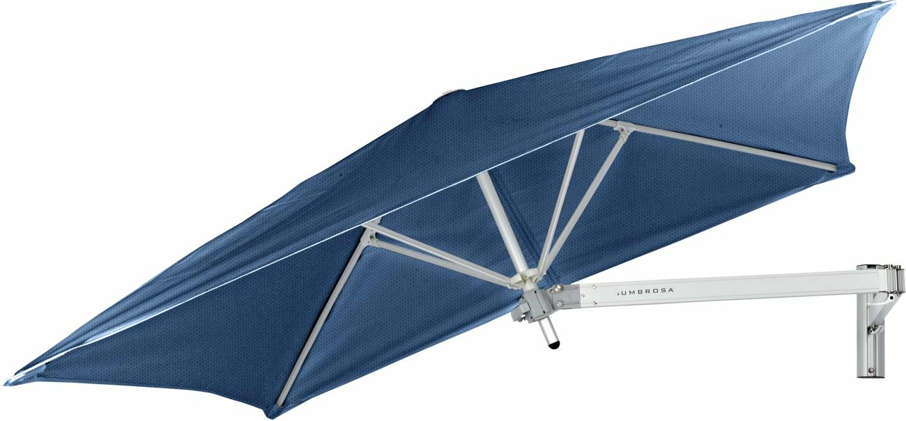 Paraflex canopy square 1,9 m in colour Blue Storm
