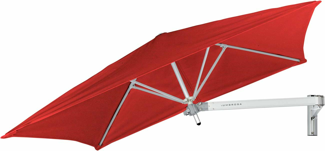 Paraflex canopy square 1,9 m in colour Pepper