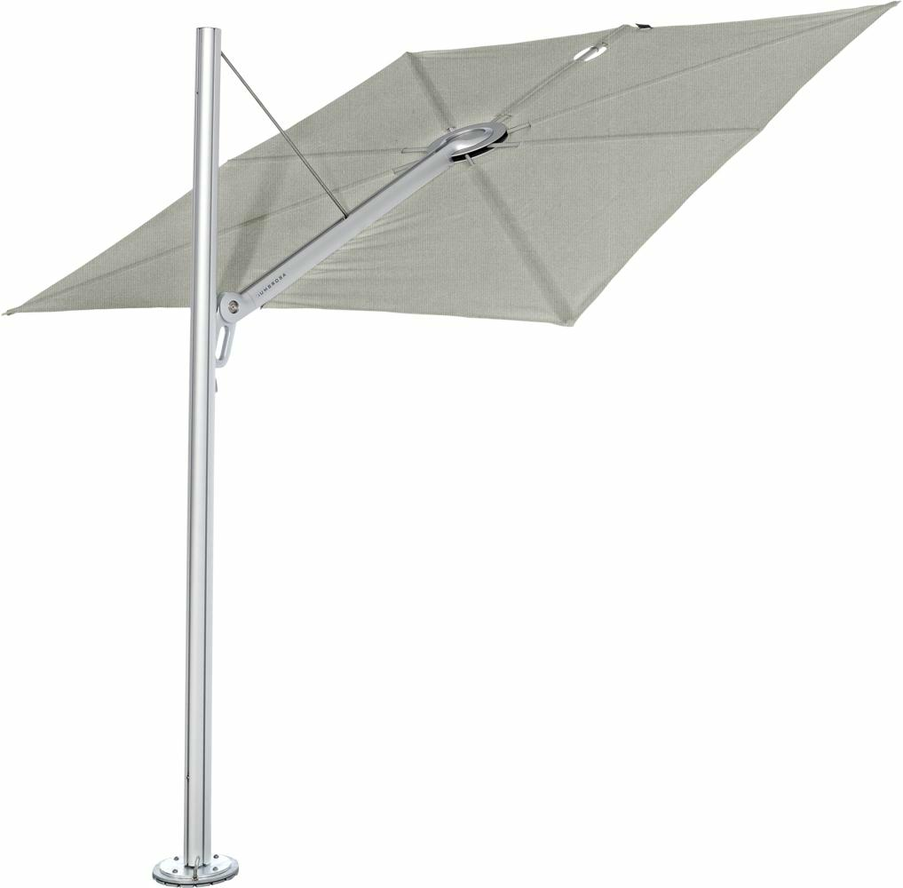 Spectra canopy square 3 m in colour Grey