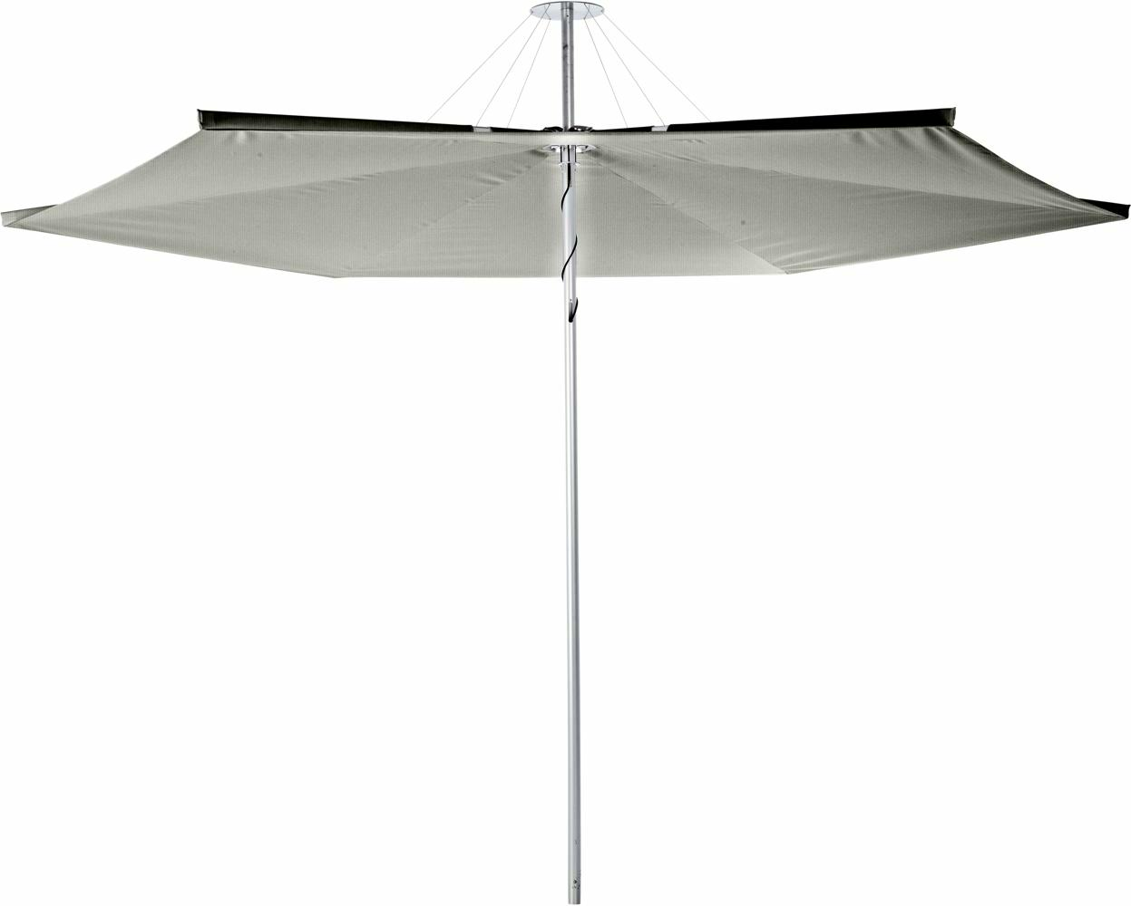 Infina canopy round 3 m in colour Grey