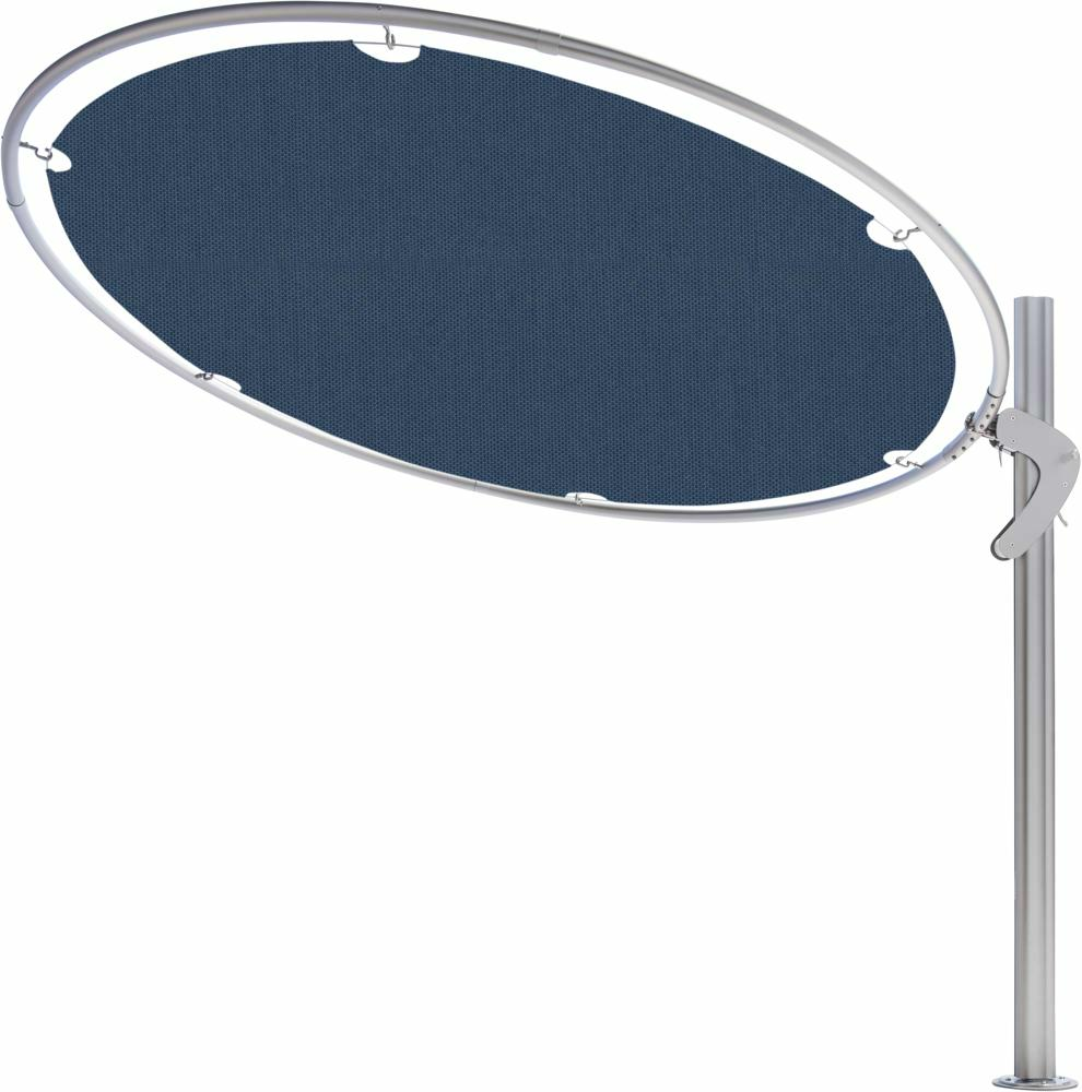 Eclipsum canopy round 3m in colour Blue Storm