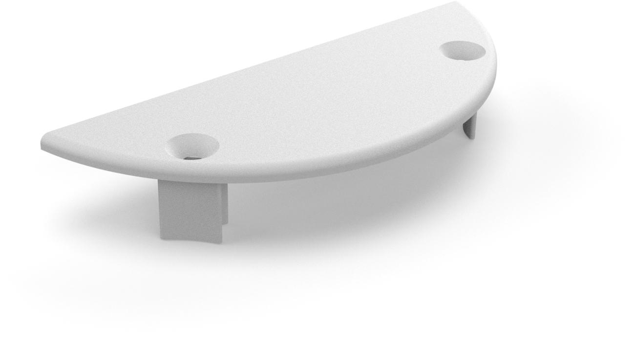 Cover plate for wallprofile Classic holder