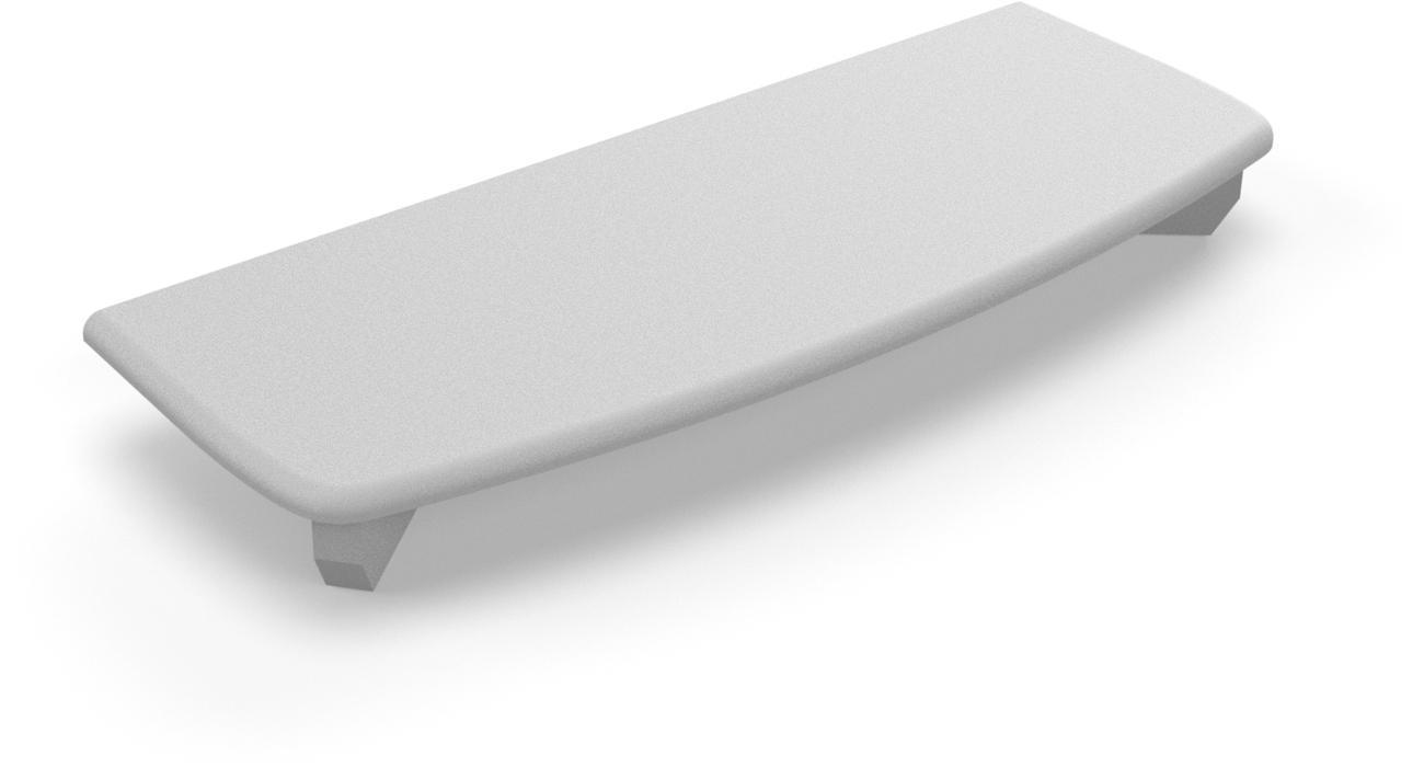 Piastra di copertura per profilo murale braccio NEO