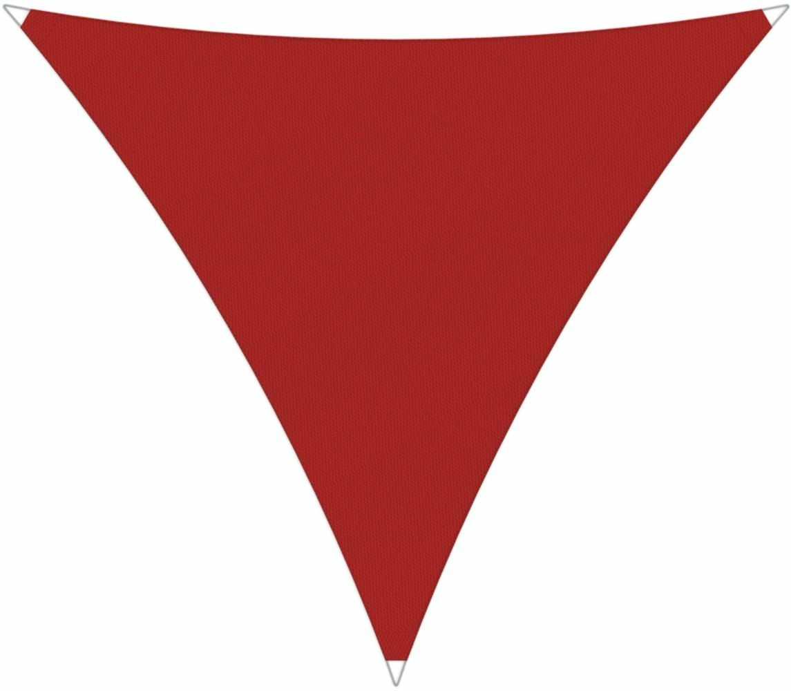 Ingenua shade sail Triangle 4 x 4 x 4 m, for outdoor use. Colour of the fabric shade sail Pepper.