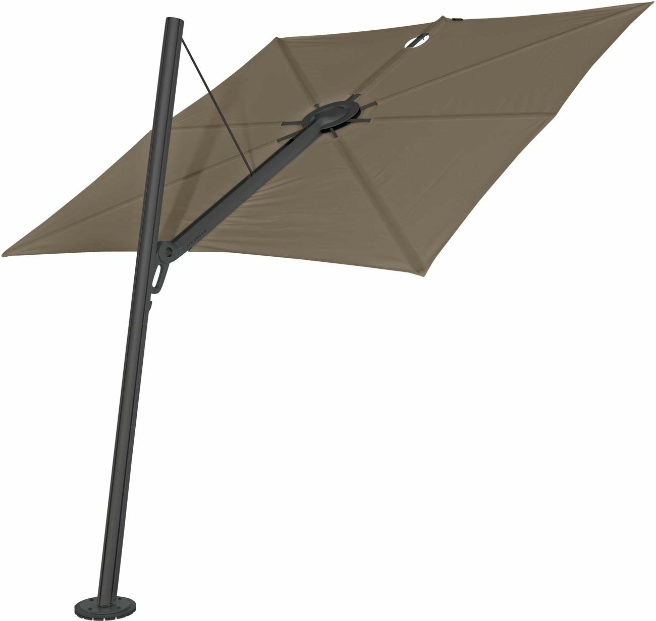Spectra cantilever umbrella forward 80°