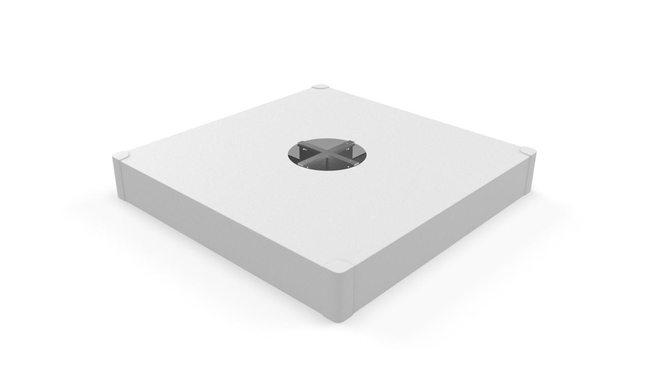 Tile base with White cover (tiles not included)