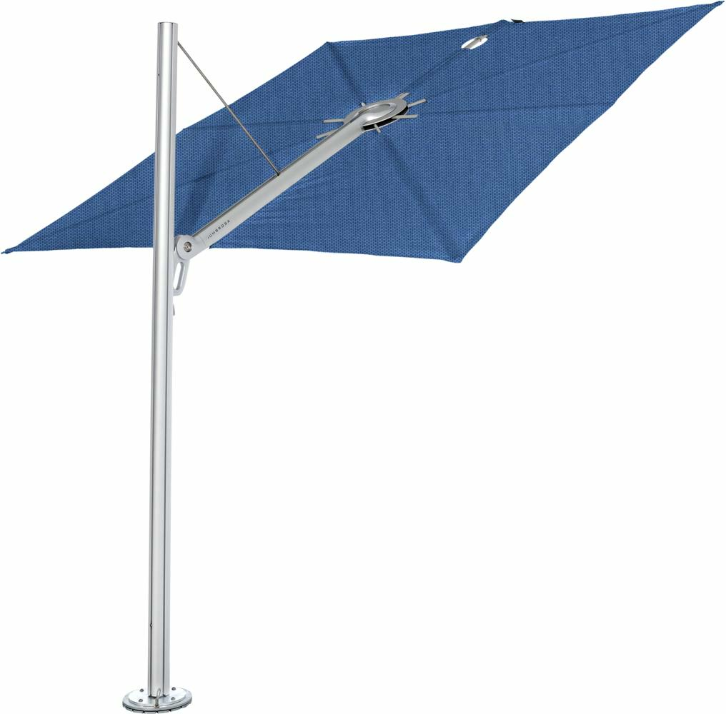 Spectra canopy square 2,5 m in colour Blue Storm