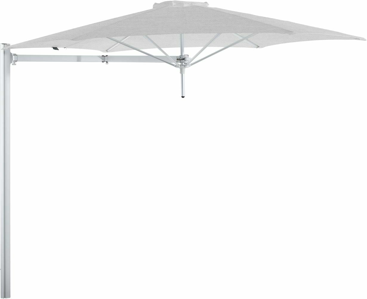 Paraflex cantilever umbrella round 3 m with Marble fabric and a Neo arm
