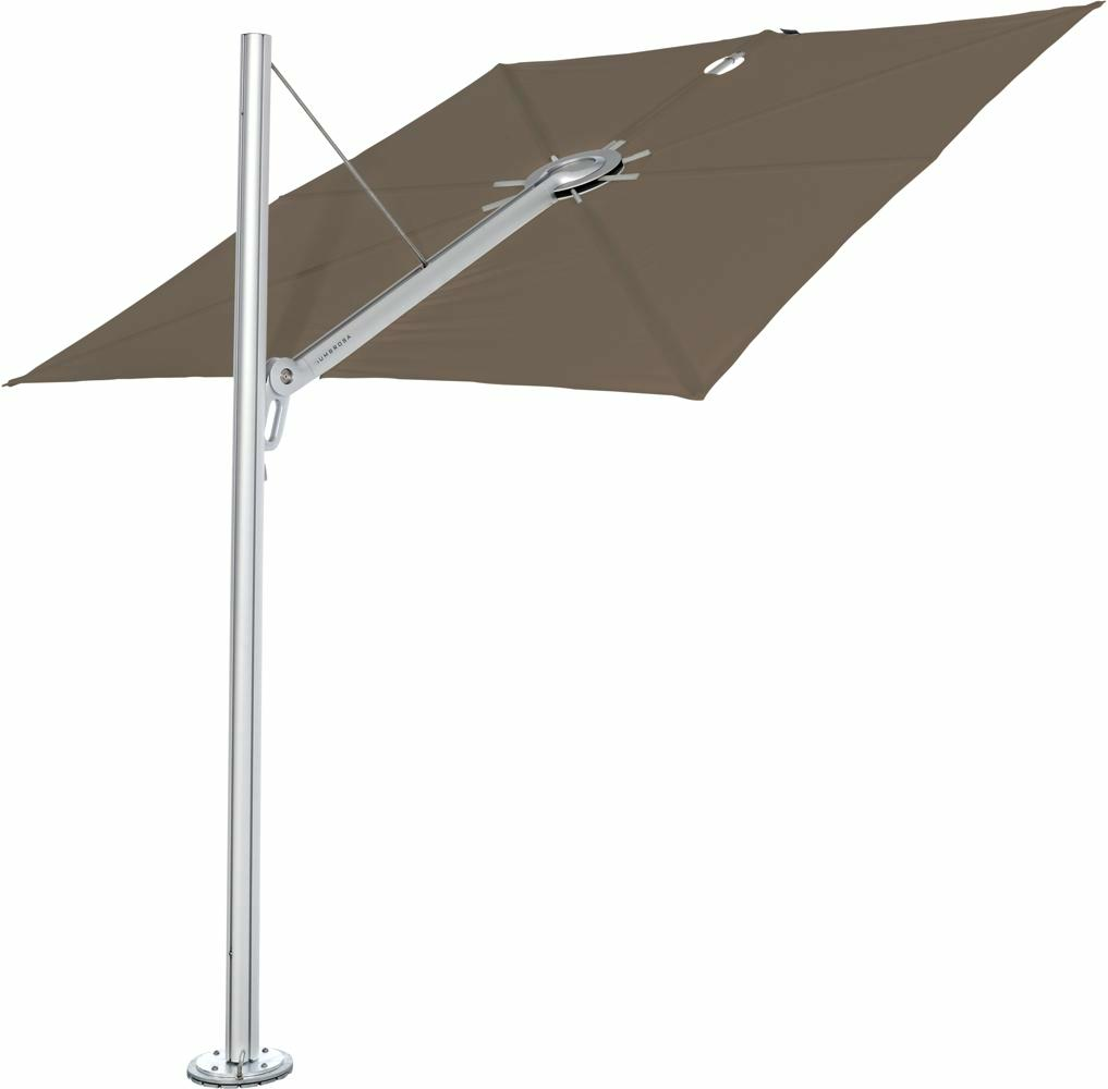 Spectra canopy square 3 m in colour Taupe