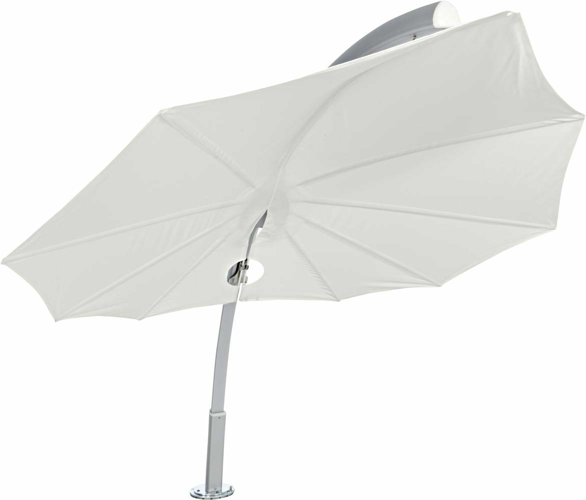 Icarus design umbrella, 3 x 3 m, Aluminum frame, Solidum Canvas fabric