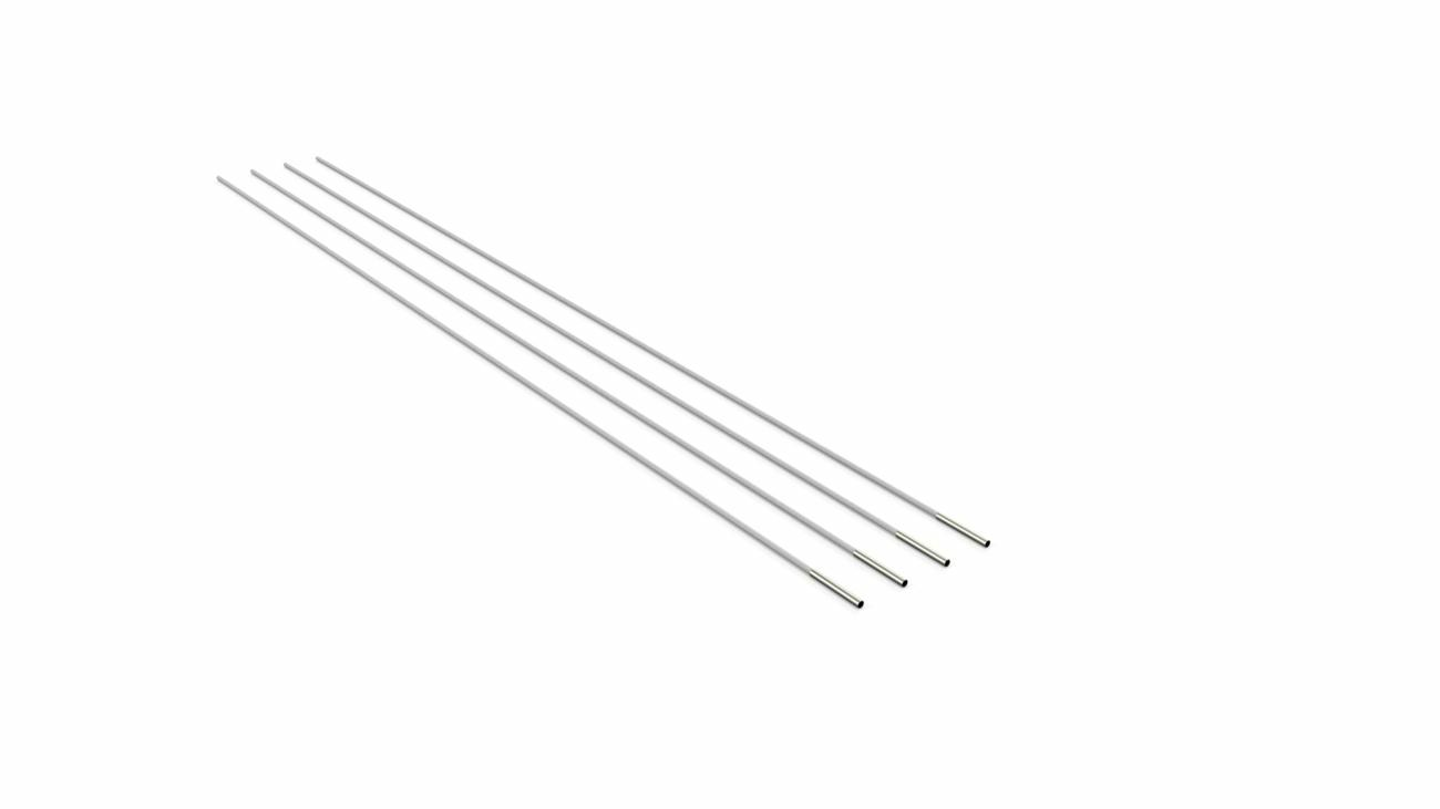 Set of 4 glassfibre ribs for Eclipsum canopy