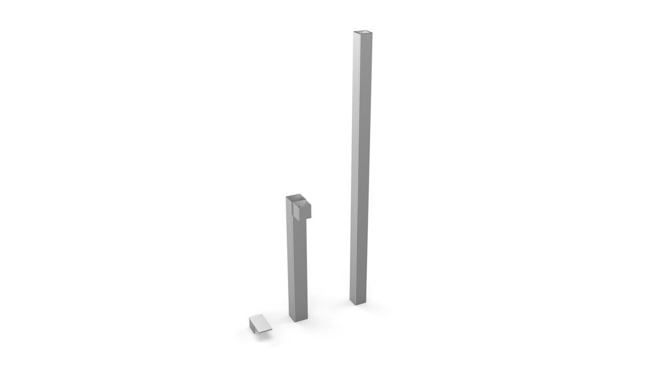 Betonverankerung für Ingenua Rohr 90°