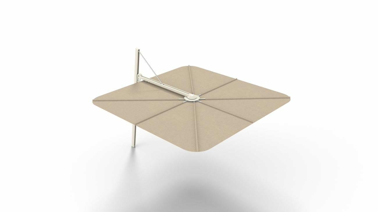 Spectra UX cantilever umbrella | Sand
