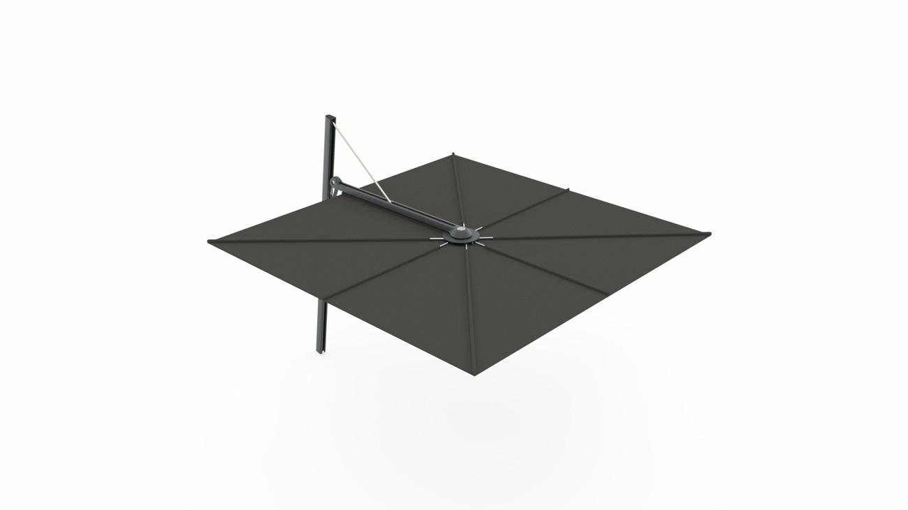 Ombrellone a palo laterale Spectra UX  ǀ Full Black